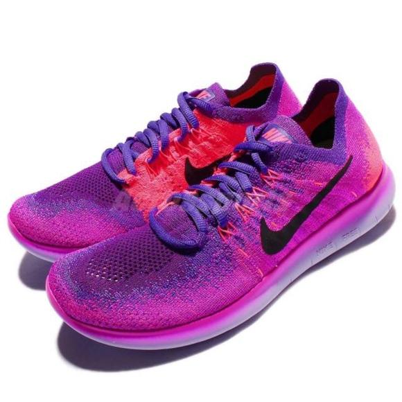 45e2fecd6a42 NIKE Flyknit 2017 Run Fire Berry Sneakers. M 5bc4d4daaa87700a89e365b1